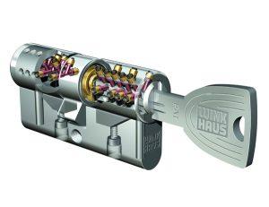 Vysoko bezpečnostná cylindrická volžka