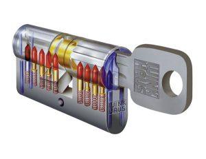 Štandardná cylindrická vložka